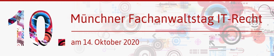 10. IT-Fachanwaltstag 2020